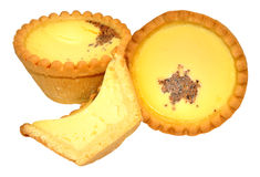 Egg Custard Tarts Royalty Free Stock Images