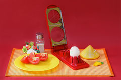 Egg cutter Stock Photography
