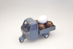 Egg Delivery Royalty Free Stock Photography