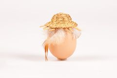 An egg - easter concept Royalty Free Stock Photography