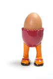 Egg on Egg Cup Stock Images