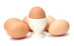 Egg with egg cup Royalty Free Stock Photos