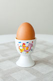 Egg in egg holder Royalty Free Stock Photo