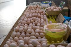 Egg. Shop in the market, china Royalty Free Stock Photography