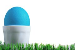 An egg in a eggcup Stock Photos