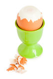 Egg in eggcup for a breakfast Stock Photography