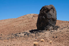 Egg of El Teide Stock Photography