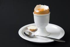 Egg en huevera Foto de archivo