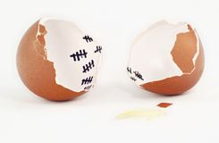 Egg Escape Stock Images