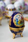 The egg faberge. Witch gold finish Stock Photo