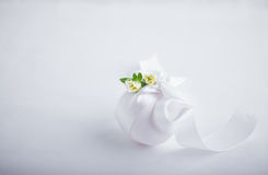 Egg with flowers Stock Photography