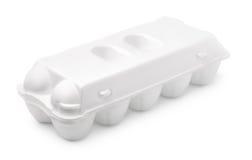 Egg foam carton Royalty Free Stock Image