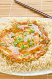 Egg Foo Young Royalty Free Stock Photo