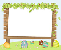 Egg frame C Royalty Free Stock Photos