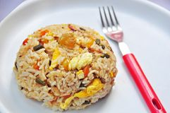 Egg fried rice, Royalty Free Stock Photo