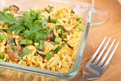 Egg Fried Rice Royalty Free Stock Images