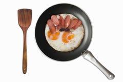 Egg frying pan Stock Image