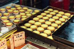 Egg galdérias o pronto para a venda em Kuala Lumnpur, Malásia fotografia de stock