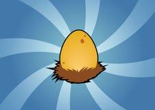 egg gniazdeczko ilustracji