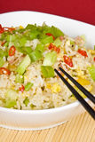 Egg and Ham Fried Rice Stock Images
