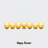 Happy easter eggs Royalty Free Stock Photo