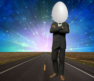 Egg Head Royalty Free Stock Photo