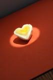 Egg heart background Royalty Free Stock Image