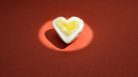 Egg heart background Royalty Free Stock Photo