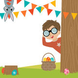 Egg Hunt Royalty Free Stock Images