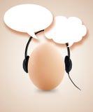 Egg Idea Stock Photography