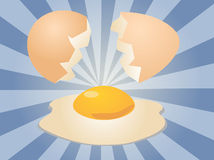 Egg illustration Royalty Free Stock Photos