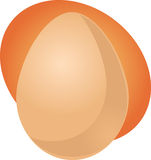 Egg illustration Stock Image