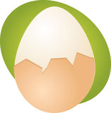 Egg illustration Royalty Free Stock Image