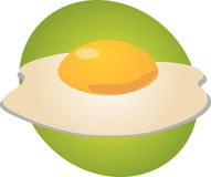 Egg illustration Royalty Free Stock Images
