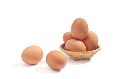 Egg. Ingredient in the cooking of all kinds Royalty Free Stock Photography