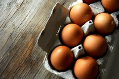Egg ingredient for pastry elaboration Stock Photo