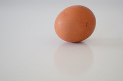 Egg. Isolated over white background Stock Photo
