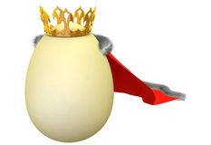 Egg - king Stock Photo
