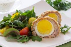 Egg la ensalada Foto de archivo