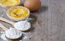 Egg la tarta Imagen de archivo
