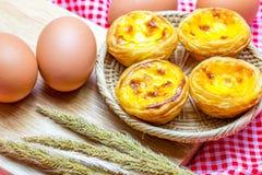 Egg la tarta Imagenes de archivo