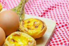 Egg la tarta Fotografía de archivo libre de regalías