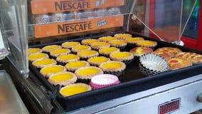 Egg la tarta Fotos de archivo