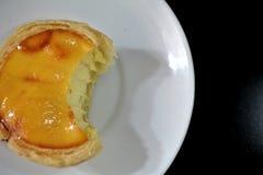 Egg la tarta foto de archivo libre de regalías