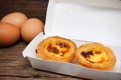 Egg la torta Fotografia Stock Libera da Diritti