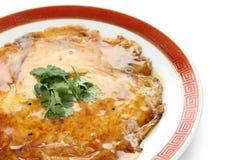 Egg le foo jeune, omelette chinoise avec la chair de crabe Images libres de droits