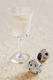 Egg liqueur Royalty Free Stock Photography