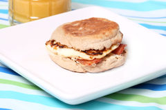 Egg McMuffin Royalty Free Stock Photography