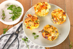 Free Egg Muffins Stock Photo - 64934770