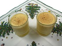 Egg nog Stock Images